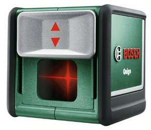 [3% Qipu] Bosch Quigo 2G Kreuzlinien-Laser 723 g Messbereich(e) 7m 0603663200 Verpackungsbox für 44,99€ frei Haus @Voelkner