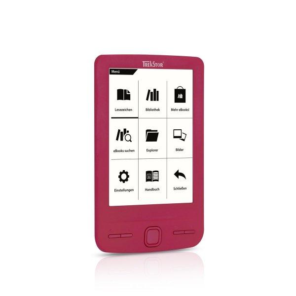 [2,5% Qipu] TrekStor e-Book Reader Pyrus mini pink für 33,90€ frei Haus @technikdirekt
