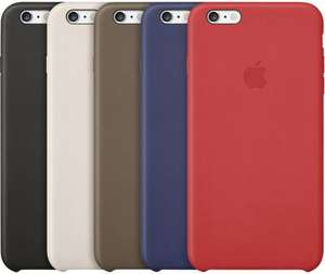 Original Apple iPhone 6 / 6 Plus Case echtes Leder für 38,80 €