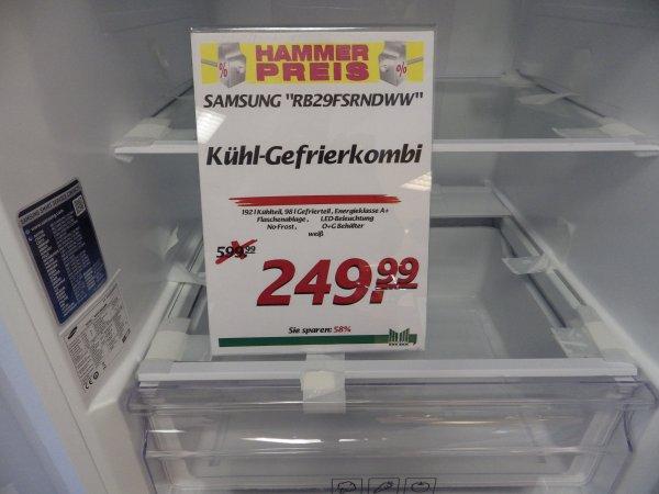 [Lokal Marktkauf Voerde] Samsung Kühl /-Gefrierkombination RB29FSRNDWW/