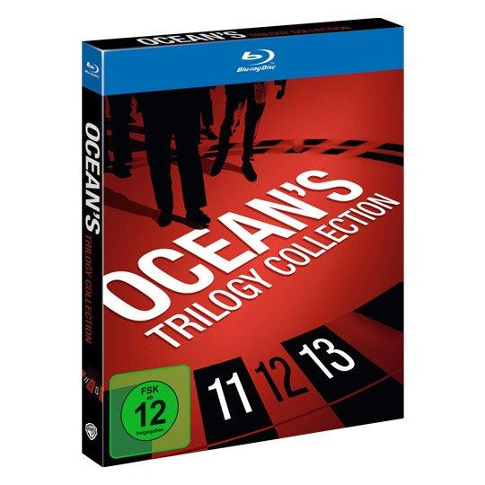 @real.de: BluRay Boxen für je 15€: Oceans Triologie, The Dark Knight Triology, Matrix - The Complete Triology