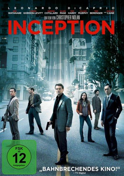 Inception DVD für 1,01 Euro @ Amazon WHD  (Gebraucht-Wie Neu)