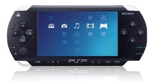 PSP - Konsole 2004 #schwarz inkl. Netzteil (gebraucht)