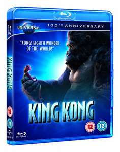 Blu-ray - King Kong (Augmented Reality Edition) für €4,59 (15 Prozent auf alle Blu-rays) [@Wowhd.co.uk