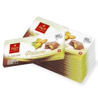 10x100g Les Adorables Pistache Schokolade für 7,45€ @ Migros-Shop durch versandkostenfrei (Natürlich auch sehr gute Kaffeepreise möglich)