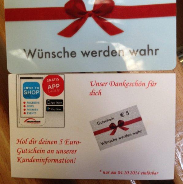 [Leipzig] 5€ Gutschein am Hauptbahnhof in den Promenaden für App Download