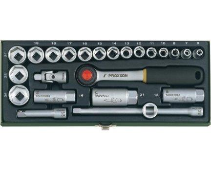 """Proxxon Steckschlüsselsatz 23110 3/8"""" 24teilig für 25,52€ @ SMDV mit GS von Sparwelt"""