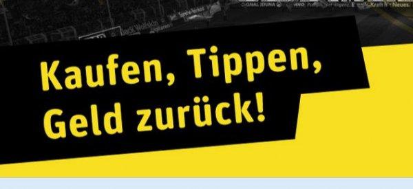 [Rewe-Dortmund] Kaufen Tippen Geld zurück bei BVB-Heimspielen