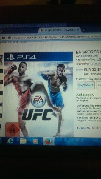 EA SPORTS UFC für PS 4