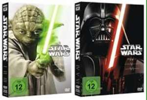 [amazon prime] Star Wars Triologie 1-3 und 4-6 (DVD) je 20,60€