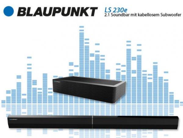 Blaupunkt LS 230e 2.1 Soundbar kabelloser Subwoofer Bluetooth 300 Watt @Ebay WOW