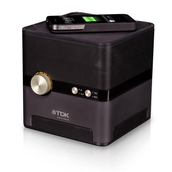 IBOOD des Tages - TDK Q35 Bluetooth Lautsprecher mit Induktionsladefläche