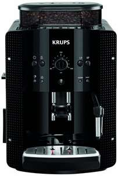 """[Blitzangebot] Krups EA8108 Espresso Kaffee Vollautomat mit """"CappuccinoPlus"""" Milchdüse, schwarz für 249€ @Amazon"""