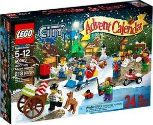 [REWE CENTER] Lego City Adventskalender 60063