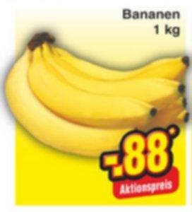 Bananen 88cent/kg (NETTO Bundesweit)