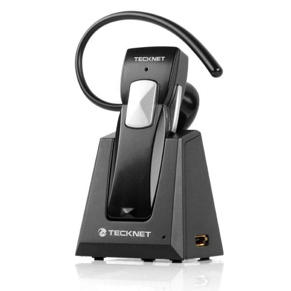TeckNet® G910 Wireless Bluetooth 3.0 Stereo Headset / Freisprecheinrichtung/ Kopfhörer mit Ladestation