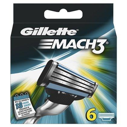 Gillette Mach 3 Rasierklingen (6 Stück) - Rossmann