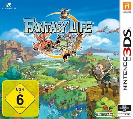 Fantasy Life 3DS direkt bei Amazon für 30€