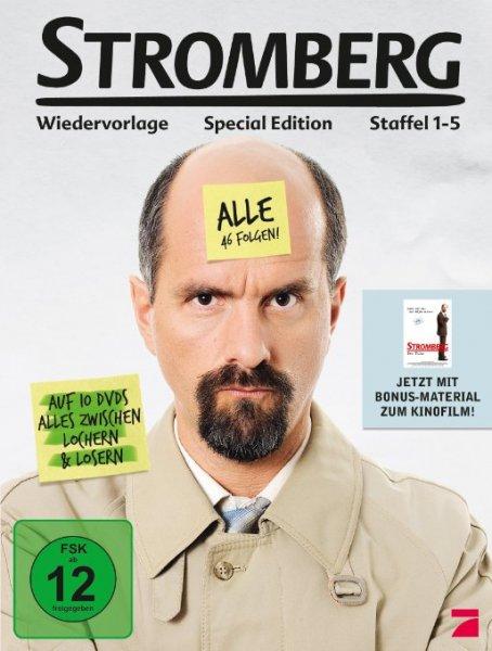 [amazon.de] Stromberg - Staffel 1-5 (Deluxe Edition) für  21,89€ (Prime Kunden, ansonsten + 3,-€ Versand)