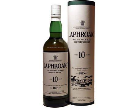 [MeinPaket-Gutschein] Whisky Laphroaig 10 Jahre 0,7l 40% (evtl. + 5% Qipu)