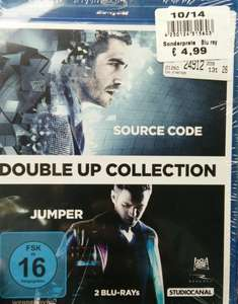 [Lokal Poco HB Habenhausen] SOURCE CODE + JUMPER (Blu-ray)