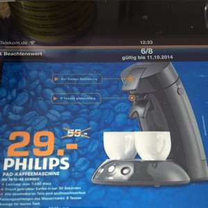 [Saturn Potsdam] Philips HD7810/40 Senseo