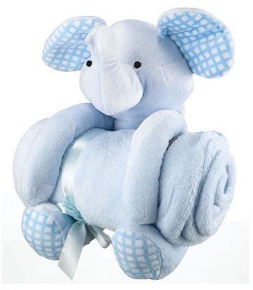 Schmusedecke mit Kuscheltier Hippo & Elefant - Geschenkset ab 9,99 € @Karstadt