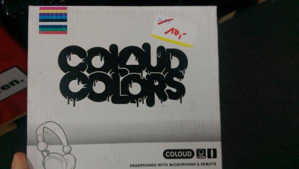 [Lokal MM Dortmund] Coloud Colors Over Ear Kopfhörer