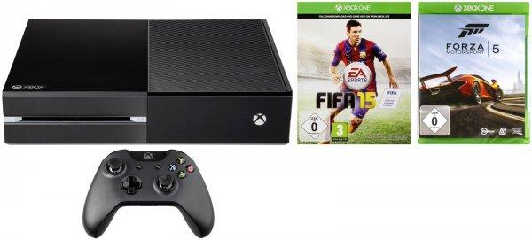 Xbox One inkl. Fifa 15 und Forza 5 423,20€