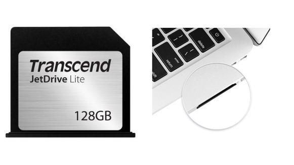 [Amazon] 10€ Rabatt auf alle Transcend 128GB JetDrive Lite Speichererweiterungskarten für diverse MacBook Modelle