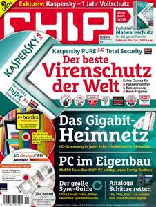 Kaspersky PURE 3.0 Total Security CHIP Edition - 3 €