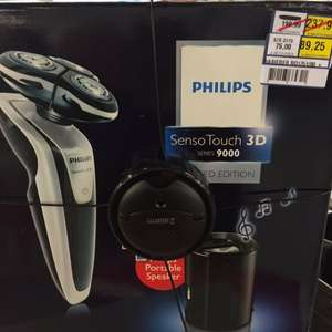 Dresden Metro: Philips SensoTouch 3D 9000er Serie RQ1251 plus portable Speaker - 89,25€