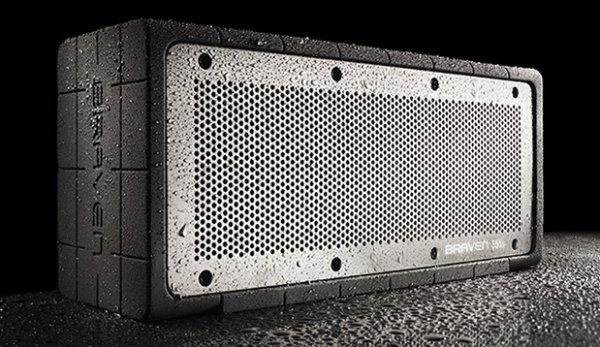 Braven 855s, portabler HighEnd Lautsprecher mit 20h Laufzeit, 20 Watt, APTX, Wasserdicht nach IPX3  statt 286€