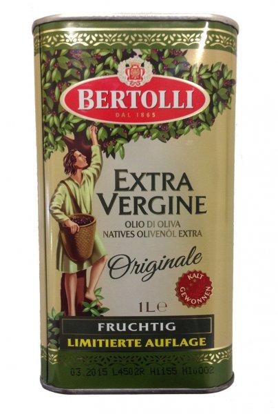 eBay: Bertolli 1L Olivenöl in Nostalgiedose Extra Vergine Olio di Oliva zu 3,99 Euro inkl. Versand