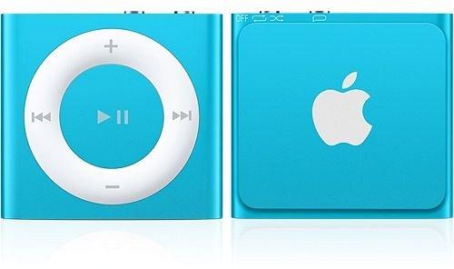 Apple iPod Shuffle 4G 2GB blau für 33,30€