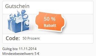 50% Rabatt Yatego.com Gutschein Aktion -- viele Shops bis 50% Rabatte