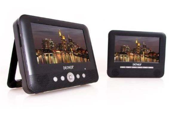 DVD-Set DENVER MTW-753TWIN mit zwei 7 Zoll Displays, USB/SD für 69,99 Euro inkl VSK