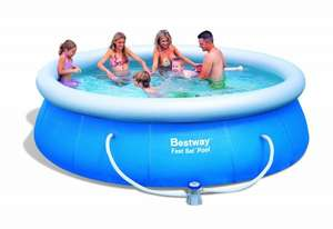 Bestway Fast Set Pool 366 X 91cm Mit Filterpumpe @amazon