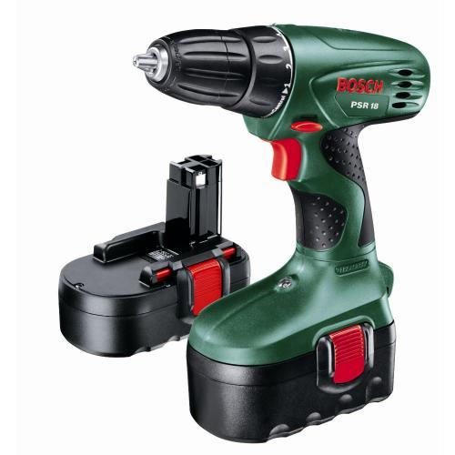 Bosch PSR 18 mit 2 Akkus für 65,25 € bei Amazon.uk