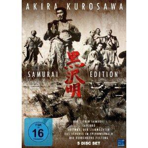 """Akira Kurosawa - Samurai Edition (DVD, 5 Disc Set) u.a. mit """"Die sieben Samurai"""" für 7,97 exkl. Versand @ Amazon.de"""
