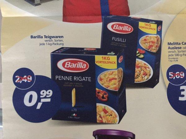[REAL] 1kg Barilla (verschiedene Sorten) für 0,99 Euro