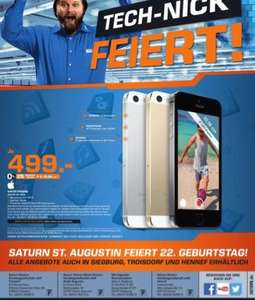 Lokal Saturn St.Augustin iPhone 5s 16GB für 499 Euro