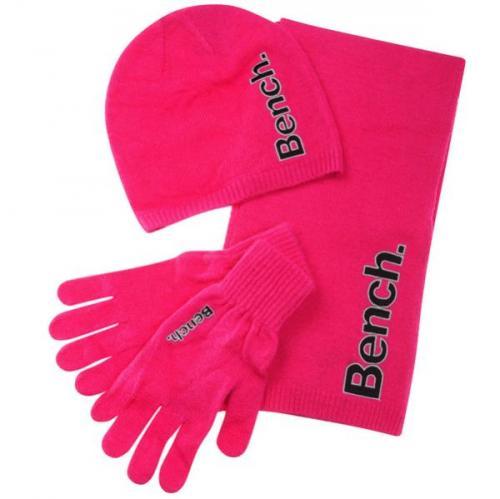 Bench Damen-Winter-Set (Schal,Handschuhe,Mütze) [@TheHut.com]