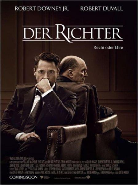 """Fast kostenlos ins Kino zu """"Der Richter - Recht oder Ehre"""""""