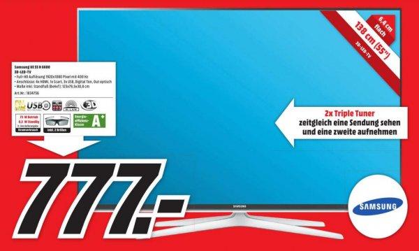 [MediaMarkt Berlin&BB] Samsung UE55H6600 3D-LED-TV // 777€