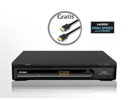 Comag SL 40 HD HDTV Satelliten Receiver (PVR Fähig, Scart, HDMI) inkl. HDMI Kabel für 40€ @MeinPaket