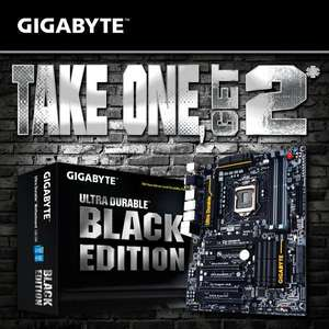 [GIGABYTE] BLACK EDITION - TAKE ONE, GET 2* Aktion