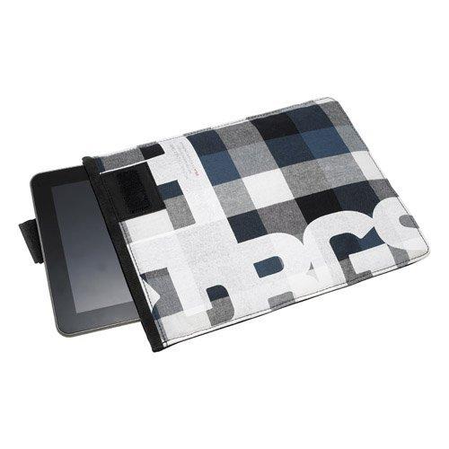 Golla Tablet Pocket - CHAD - 10.1 Zoll - Blau karriert G1490 Tasche für Tablets und Netbooks bis 10,1 Zoll
