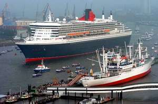 Queen Mary 2 Kurztrip Balkonkabine 2 Nächte Southampton - Hamburg incl. Flug EUR 267,--