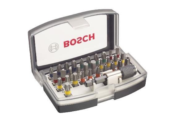 BOSCH Schrauberbit-Set 32-tlg. mit Bithalter für 8,88€@Dealclub